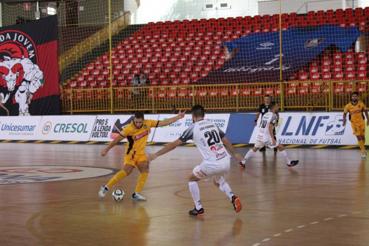 Campo Mourão x Magnus Futsal (Foto: Ruth Borsuk/Magnus Futsal/Direitos Reservados)