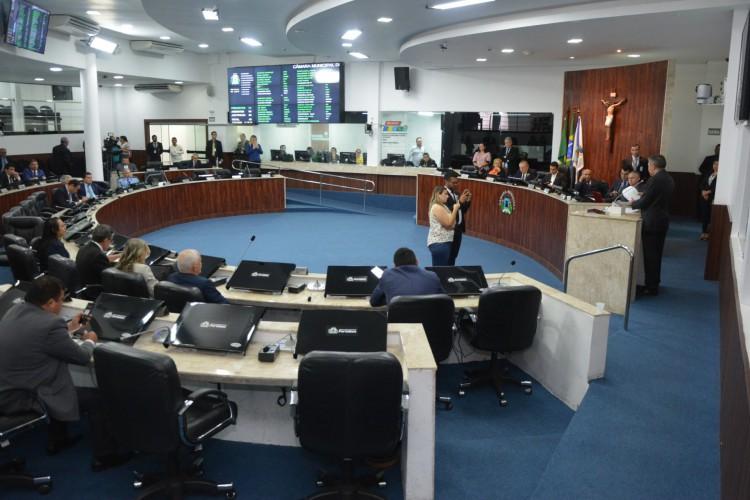 Futuro prefeito enfrentará na Câmara oposição forte à  direita e à esquerda (Foto: Érika Fonseca/CMFor)