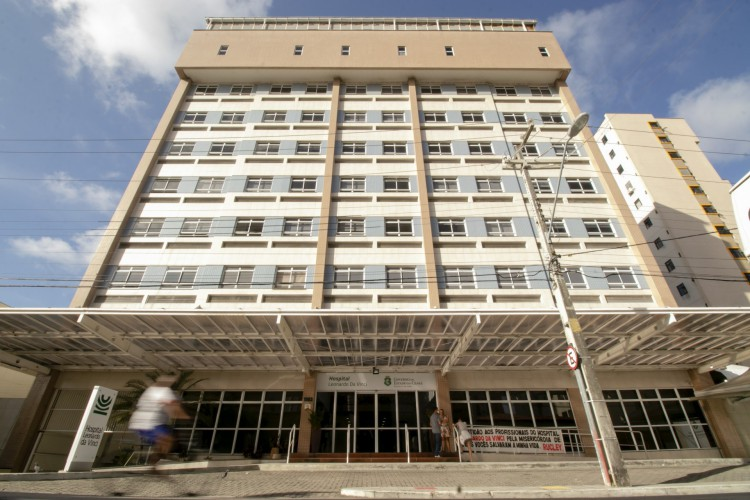 Fachada do Hospital Leonardo da Vinci, na Aldeota (Foto: Aurelio Alves/O POVO)