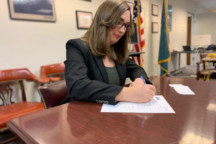 Sarah será a primeira trans a ocupar uma cadeira no Senado americano (Foto: Reprodução/ Redes Sociais)