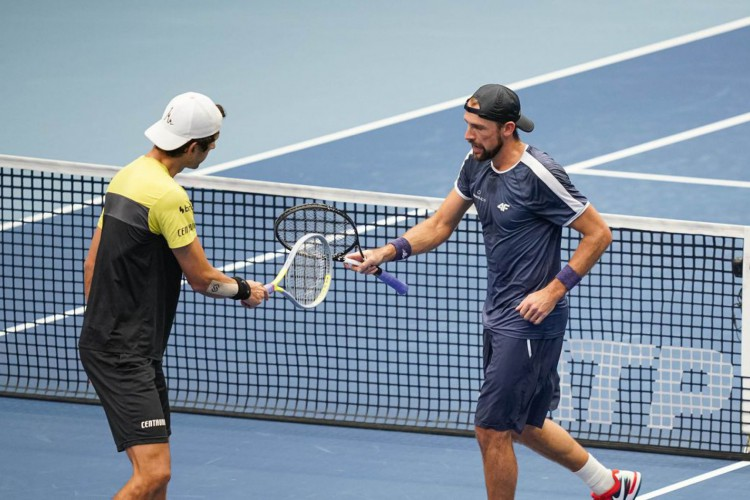 Melo e Soares avançam no torneio de duplas do Masters de Paris (Foto: )
