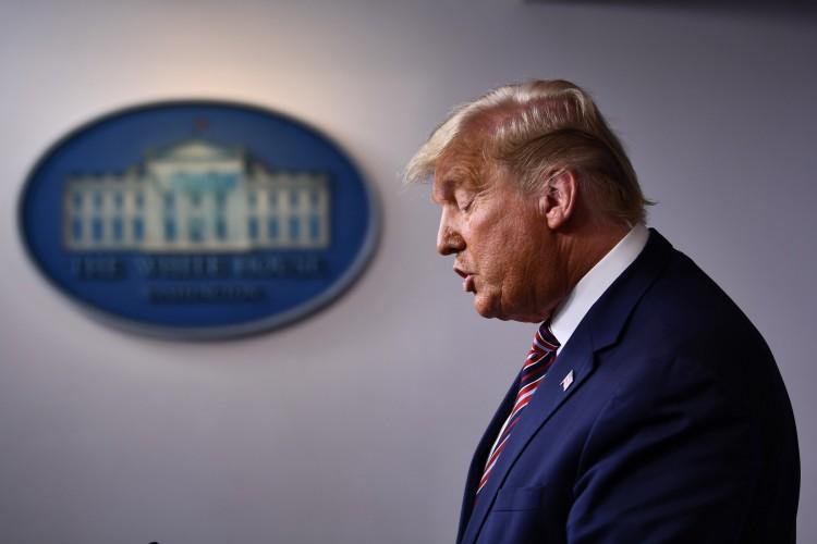 O presidente dos EUA, Donald Trump (Foto: BRENDAN SMIALOWSKI / AFP)