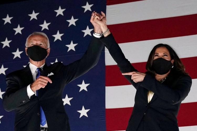 Joe Biden e Kamala Harris (Foto: OLIVIER DOULIERY / AFP)