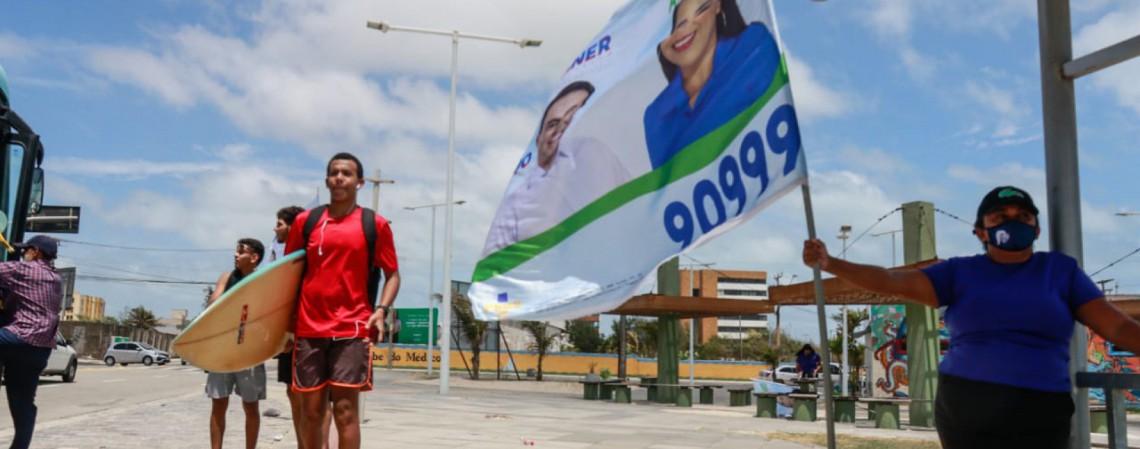 Movimentação nas ruas de Fortaleza uma semana antes do primeiro turno das Eleições 2020