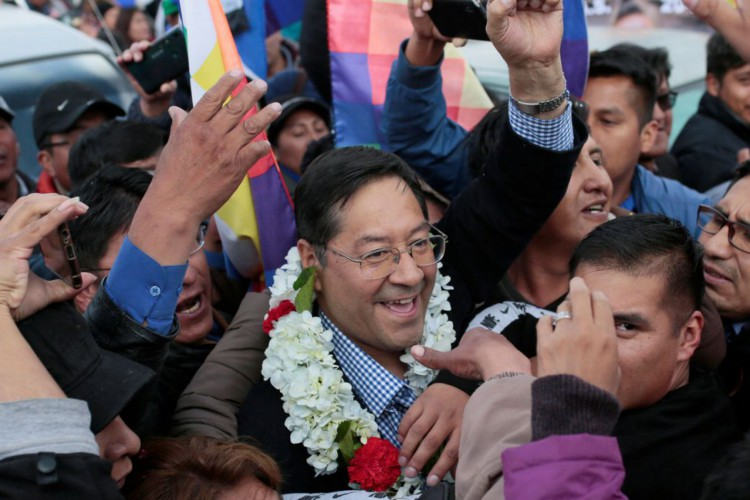 Luis Arce assume neste domingo a Presidência da Bolívia (Foto: )
