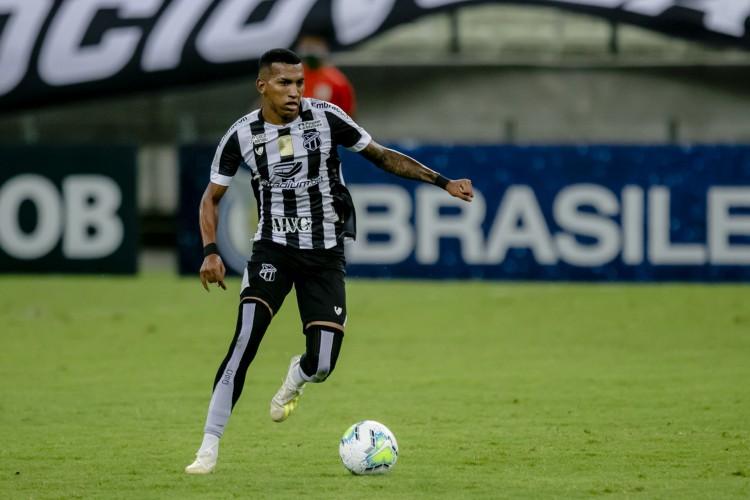 Diretoria do Ceará tinha interesse em manter Léo Chú, mas Grêmio vai utilizá-lo  (Foto: Aurelio Alves)
