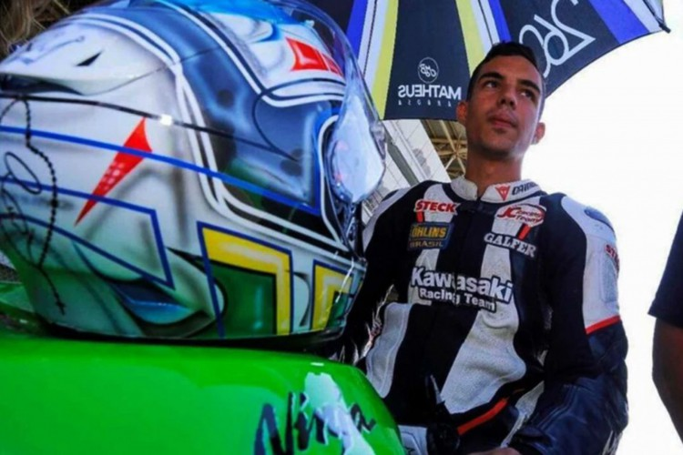 Matheus Barbosa morre em acidente durante etapa do Superbike Brasil em InterlagosMatheus Barbosa morre em acidente durante etapa do Superbike Brasil em Interlagos (Foto: Reprodução Instagram/SuperBikeBrasil)