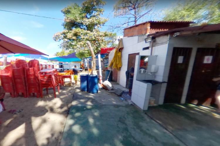 Bombeiros foram acionados por volta das 15h20min (Foto: Reprodução/Google Maps)