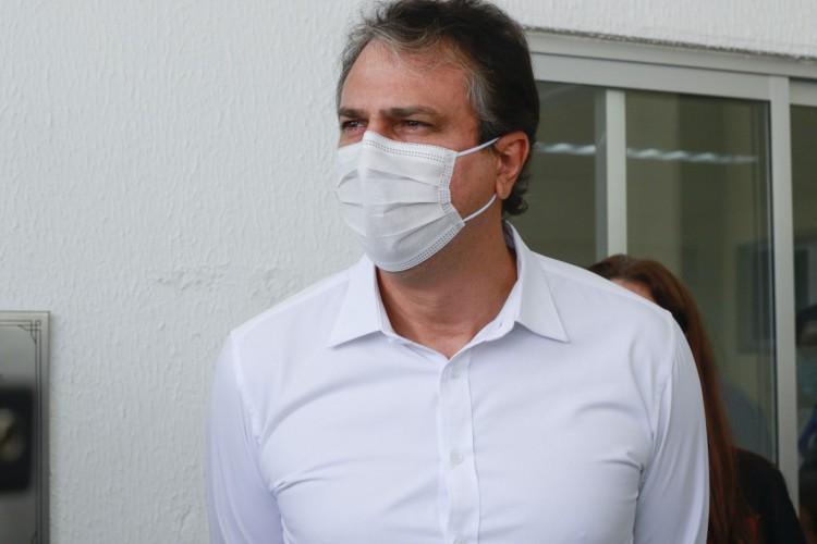 Camilo Santana, governador do Ceará (Foto: BARBARA MOIRA)