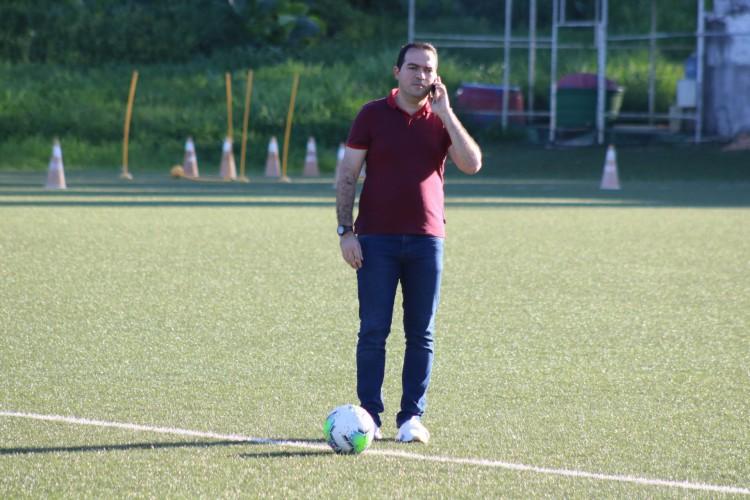 Marcelo Paz disse que o Fortaleza trabalha com dois nomes para novo técnico, no momento (Foto: Dudu Oliveira/Fortaleza EC)
