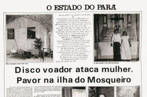 Ao longo de 1977, a luz verde e o objeto oval voador foram tema de mais de 50 notícias veiculadas nas três publicações paraenses
