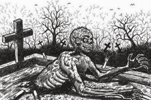 Em São Paulo, uma das versões que circula do Corpo-Seco diz que a criatura bebe sangue das vítimas. Quem é mordido, também vira um corpo-seco