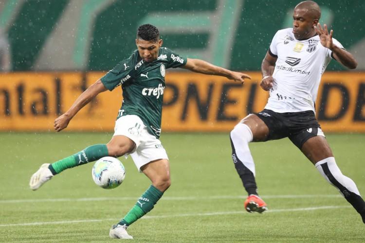 Palmeiras e Ceará se reencontram para o segundo jogo pelas quartas de final da Copa do Brasil (Foto: Cesar Greco/Palmeiras)