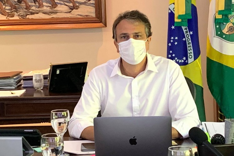 Segundo o governador, Comitê Estadual de Enfrentamento à Pandemia não discutiu possibilidade de um novo lockdown no Ceará.   (Foto: Reprodução/ Facebook)