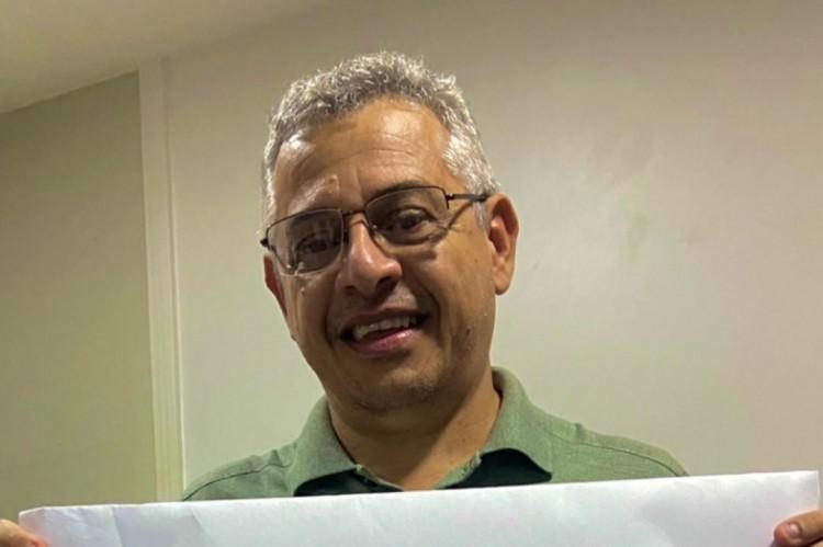 O professor Wally Menezes foi eleito com 43% dos votos como novo reitor do IFCE (Foto: Reprodução Redes Sociais)