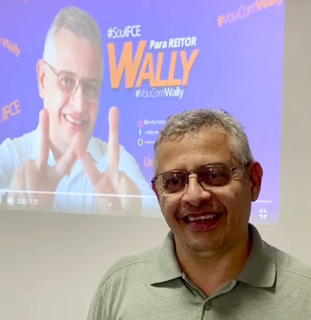 Professor Wally Menezes, novo reitor do IFCE