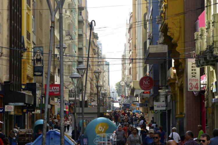 Rua da praia, Porto Alegre (Foto: Renato Soares/ MTUR)