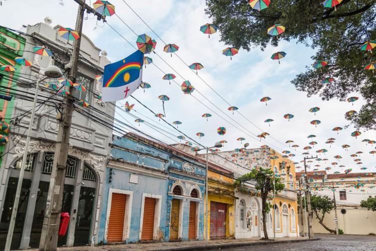 Recife, cidade antiga (Foto: Bruno Lima - MTUR)