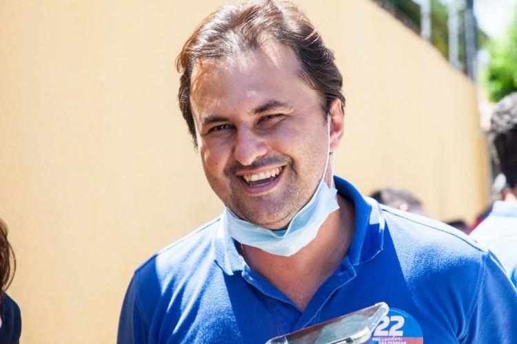 """Bruno Gonçalves tem enfrentado dificuldades com o chamado """"G9"""", formado por vereadores críticos à gestão municipal. (Foto: Davi Farias / Especial para O Povo)"""