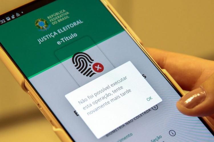 Aplicativo e-Título (Foto: Marcello Casal JrAgência Brasil)