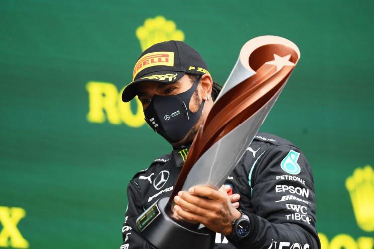 Lewis Hamilton vence na Turquia e se torna heptacampeão mundial (Foto: )