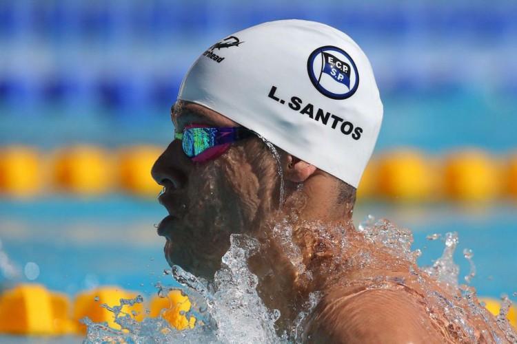 Leonardo Santos bate recorde sul-americano dos 200 medley na Hungria (Foto: )