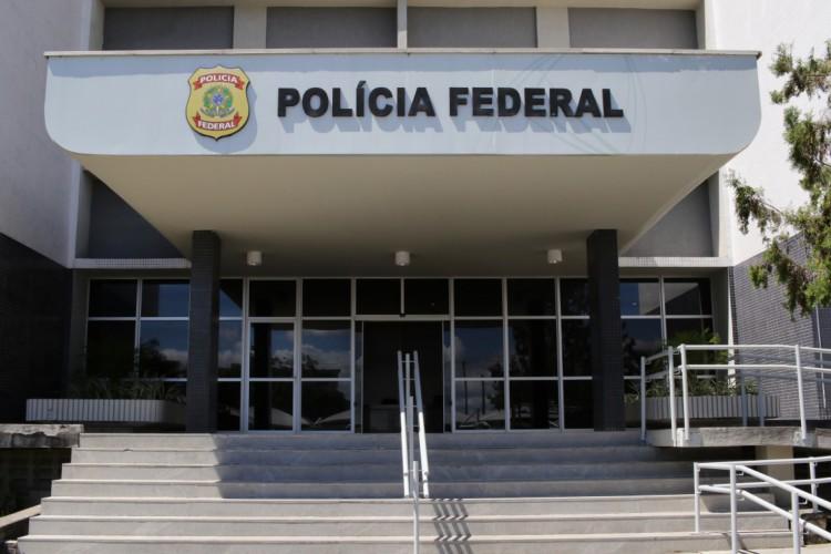 O repasse de informações aconteceu durante coletiva na Sede da Polícia Federal em Fortaleza (Foto: FÁBIO LIMA)