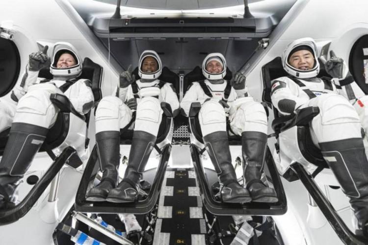 Segunda missão tripulada da SpaceX rumo à Estação Espacial ocorre hoje. Assista ao vivo (Foto: Nasa/ Divulgação)