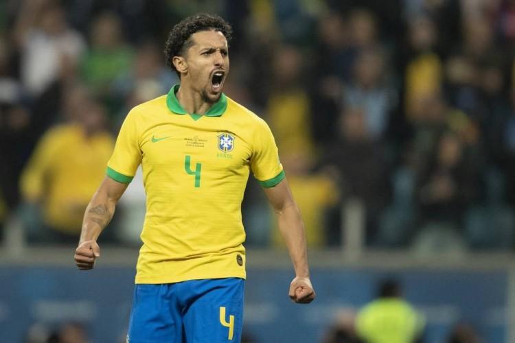 Marquinhos, zagueiro do PSG e da Seleção Brasileira (Foto: Lucas Figueiredo/CBF)
