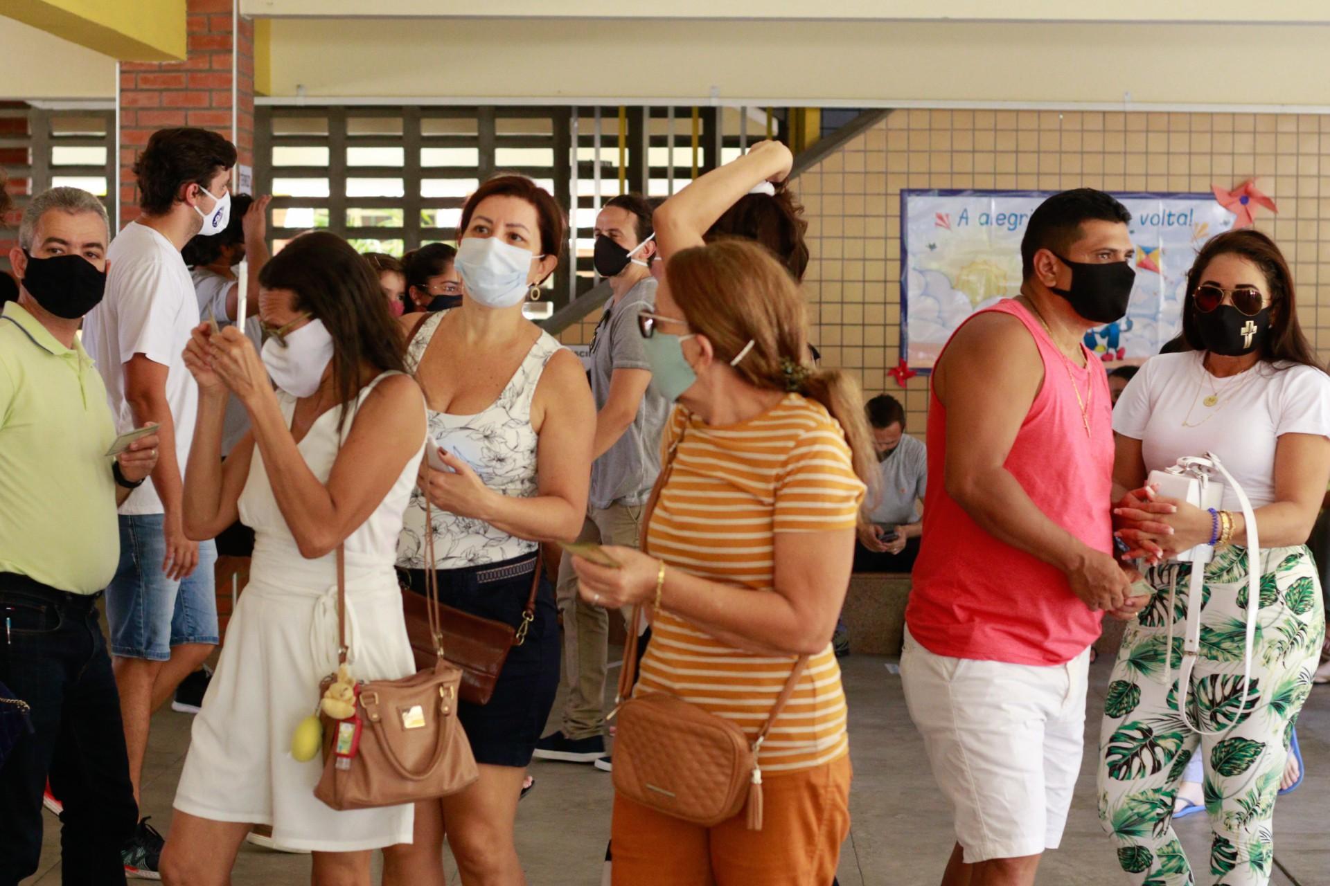 Os desconcertos em votar em meio à pandemia
