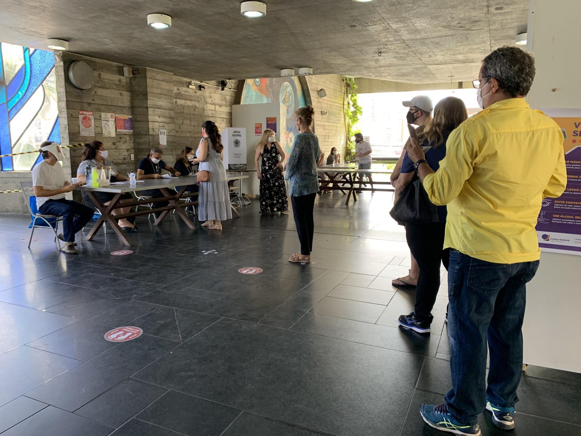 FORTALEZA, CE, 15-11-2020: Eleições 2020. Local: Espaço Aberto da Dom Luis. (Fotos: Deisa Garcêz/Especial para O Povo)