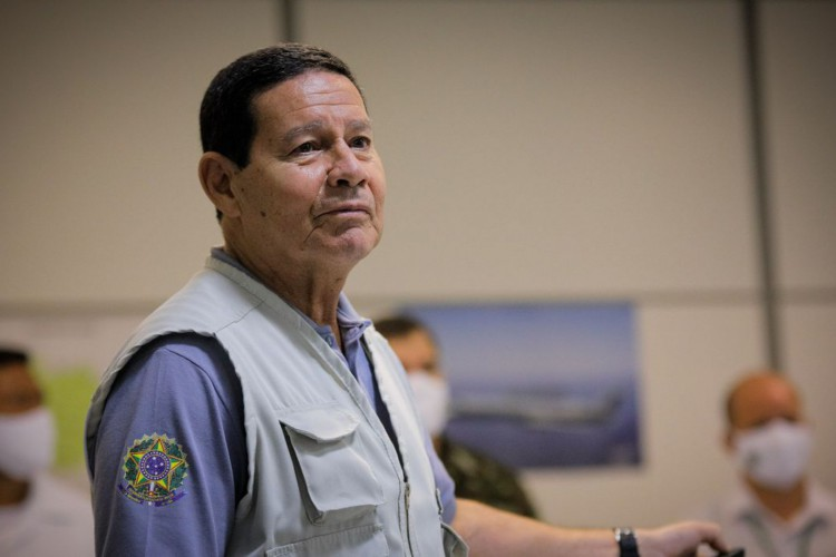 Vice-Presidente da República, Hamilton Mourão (Foto: Bruno Batista/ VPR)