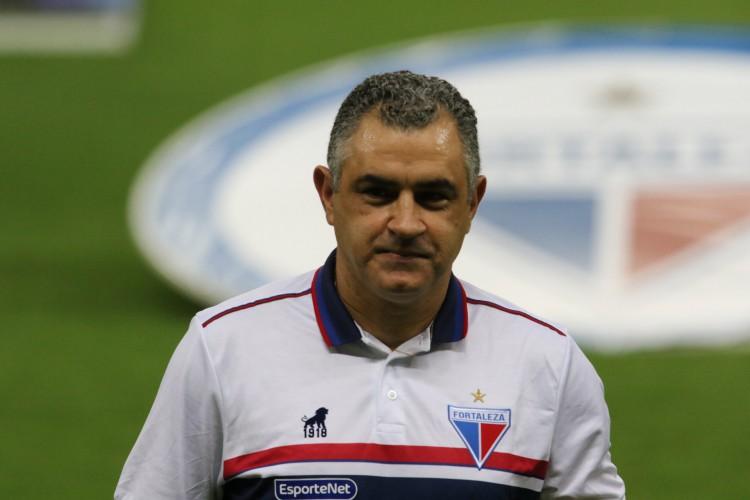 Primeiro vitória de Chamusca na Série A pode vim com três posições na Série A  (Foto: FÁBIO LIMA/O POVO)