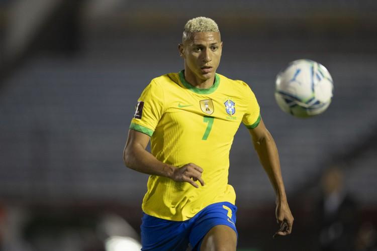 Richarlison é uma das novidades na lista da seleção olímpica do Brasil (Foto: Lucas Figueiredo/CBF)
