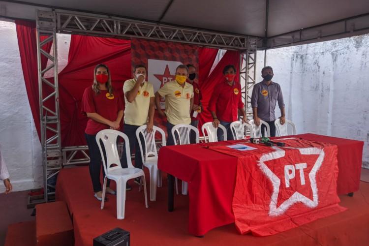 PT declarou apoio a Sarto e Élcio no 2º turno contra Capitão Wagner (Foto: Carlos Mazza/O POVO)