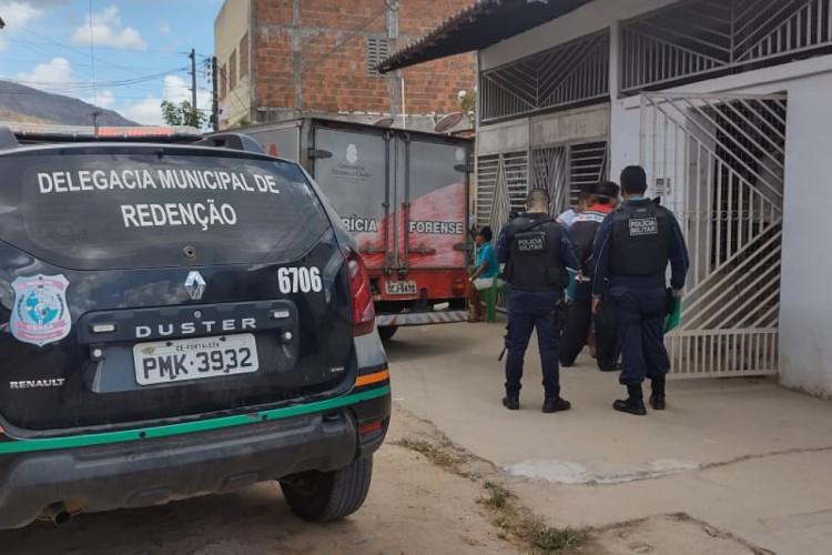 Crime ocorreu na manhã desta quarta-feira, 18 (Foto: Sâmya Mesquita/Especial para O POVO)