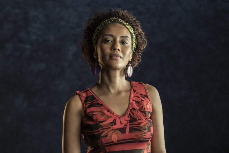 Taís Araújo interpreta Marielle Franco em especial para o Dia da Consciência Negra. Além dela, outras 21 personalidades serão representadas. (Foto: DIVULGAÇÃO/TV GLOBO)