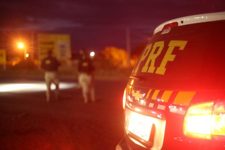 A área que aconteceu a ocorrência vem sendo monitorada justamente por relatos constantes de assaltos  (Foto: Divulgação/PRF)