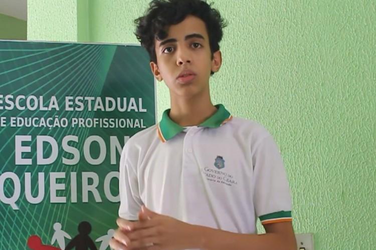 UC Madeiro foi o aluno que idealizou o robô