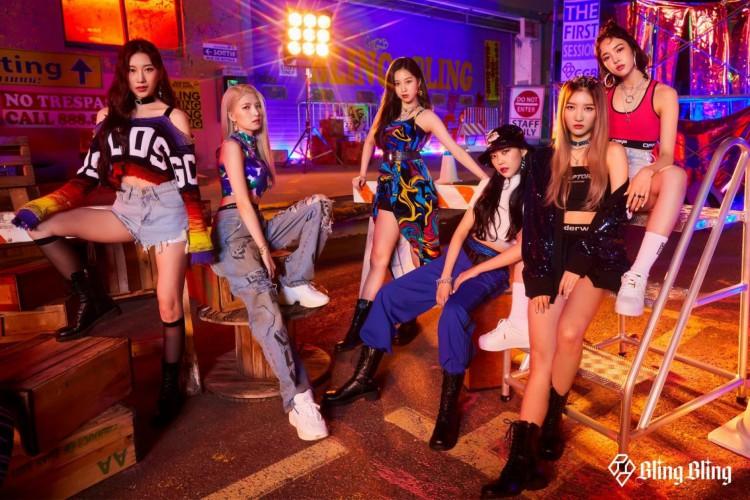 O girlgroup lançará um single álbum com duas músicas em versões coreanas e japonesas, totalizando quatro faixas musicais. (Foto: Divulgação/MAJOR9)