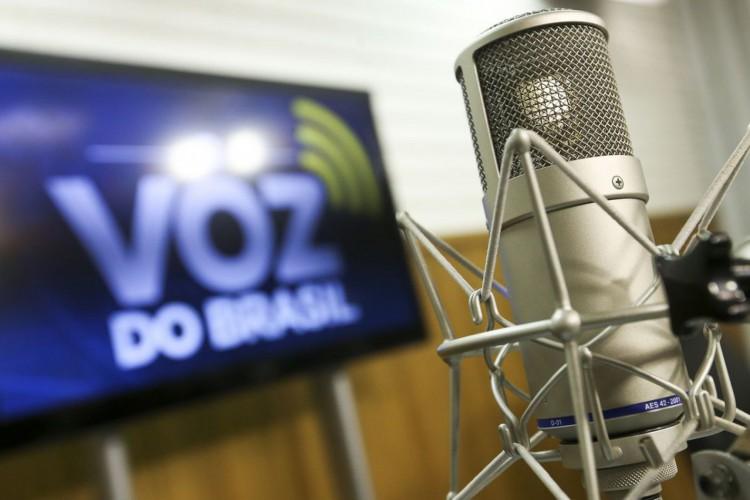 Brasília, DF, Brasil: Estúdio Voz do Brasil. (Foto: Marcelo Camargo/Agência Brasil) (Foto: Marcelo Camargo/Agência Brasil)