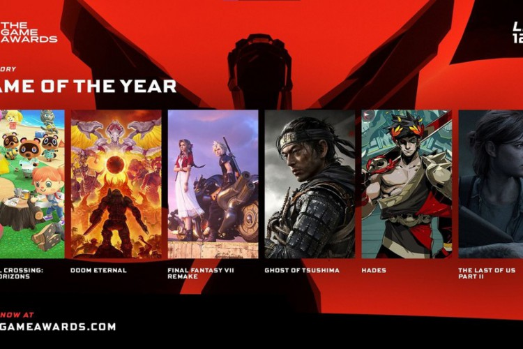 The Game Awards premia os melhores jogos do ano para console, celular e PC. (Foto: Reprodução/The Game Awards)