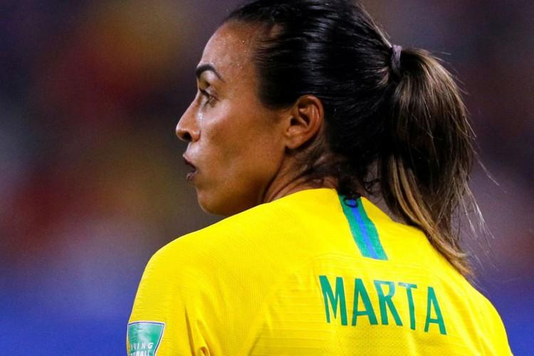 Marta é cortada da seleção feminina após testar positivo para covid (Foto: )