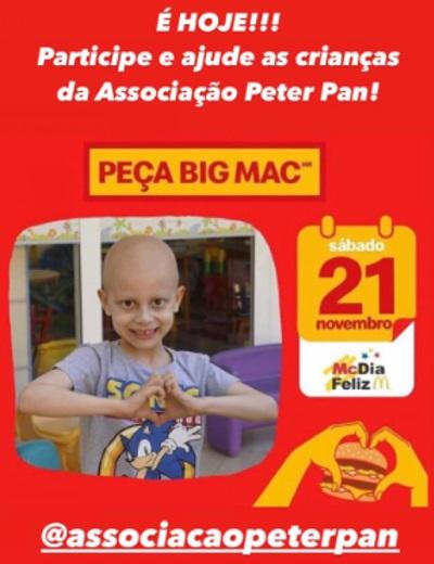 Em Fortaleza, a Associação Peter Pan é beneficiada com a campanha (Foto: DIVULGAÇÃO)