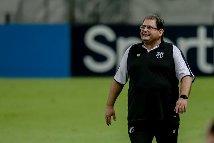Guto Ferreira, técnico do Ceará (Foto: Aurelio Alves)