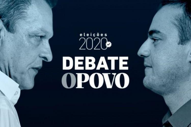 Segundo turno das Eleições 2020 em Fortaleza: Sarto e Capitão Wagner participam de debate hoje promovido pelo O POVO; saiba como assistir à transmissão ao vivo (Foto: Sarah Costa/O POVO)