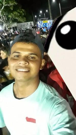 Ao tentar intervir a agressão, Gabriel Silva Reis foi atacado com um pedaço de madeira na região da cabeça (Foto: Reprodução/Facebook)