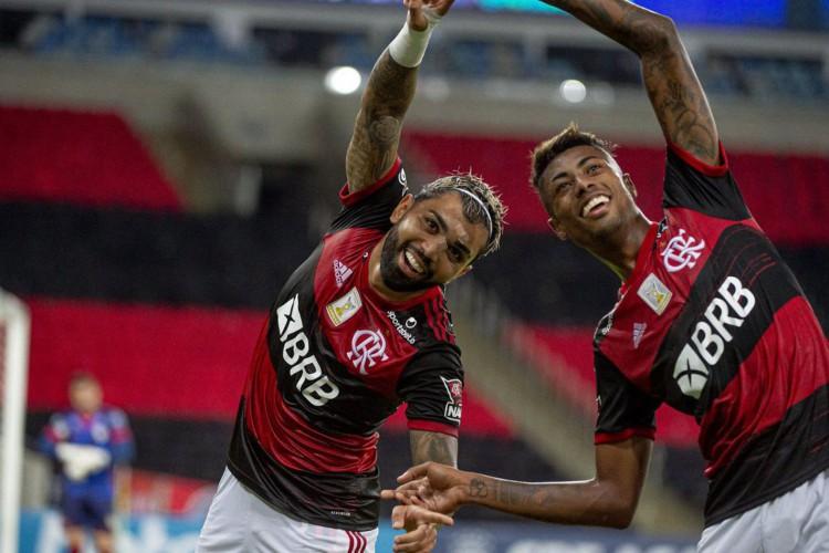 Flamengo e Racing fazem primeiro duelo das oitavas da Libertadores (Foto: Alexandre Vidal/Flamengo)
