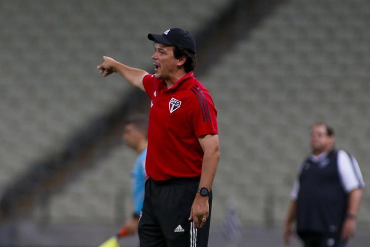 Tricolor não avançou nas conversas com Fernando Diniz e segue à procura de treinador (Foto: Miguel Schincariol/saopaulofc.net)