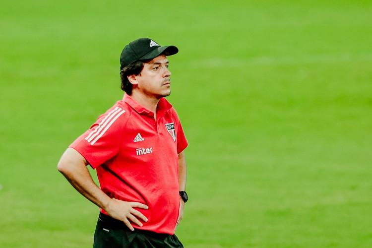 Fernando Diniz é um dos alvos do Fortaleza na busca por treinador  (Foto: JÚLIO CAESAR)